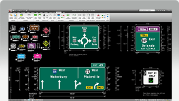 GuideSIGN | Road and Highway Sign Design Software | Transoft