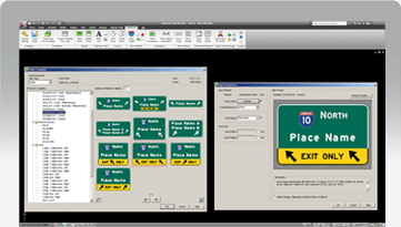 GuideSIGN   Road and Highway Sign Design Software   Transoft
