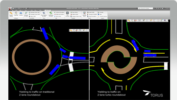 Torus Roundabouts Planning And Designing Roundabouts Has Never Been Easier Transoft Solutions